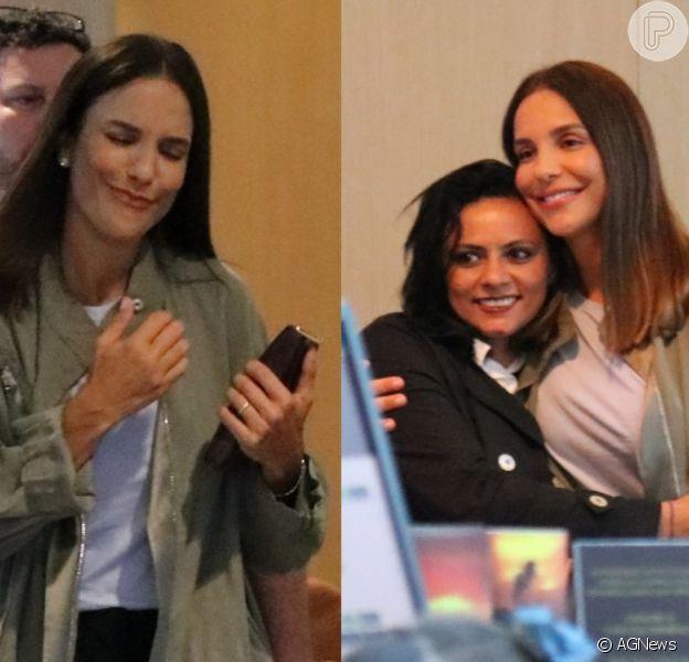 Caretas, foto com fã e mais: Ivete dá show de simpatia em passeio no Rio de Janeiro nesta quinta-feira, dia 06 de agosto de 2019