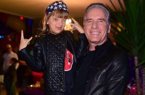 Roberto Justus celebra 1º dia de aula de Rafaella e é comparado com a filha