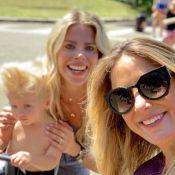 Karina Bacchi e madrinha, Ticiane Pinheiro, se declaram nos 2 anos de Enrico