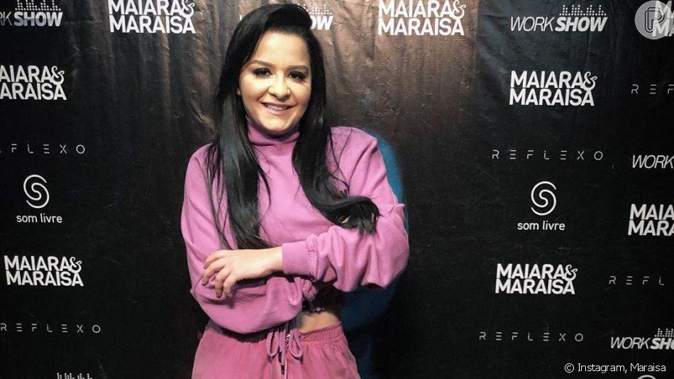 Corpo de Maraisa foi elogiado pela life coach de emagrecimento Mayra Cardi nesta sexta-feira, 9 de agosto de 2019