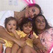 Ivete Sangalo é comparada aos filhos ao mostrar foto da infância: 'Genética boa'