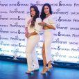 Simone e Simaria, Luisa Sonza, Nadine Gerloff e GKAY participam de lançamento de coleção de   semi     joias em São Paulo, nesta segunda-feira, 19 de agosto de 2019