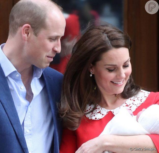 Kate Middleton está grávida do 4ª filho