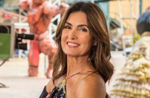 Fátima Bernardes usa look decotado nas costas e ganha elogios na web: 'Poderosa'