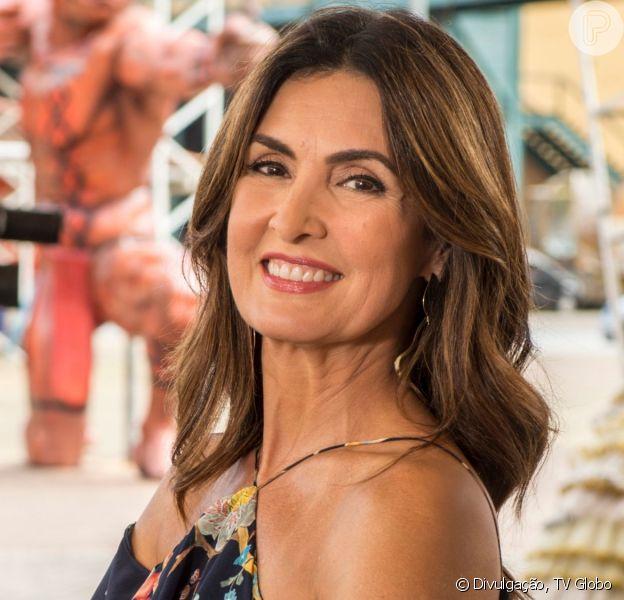 Fátima Bernardes usa look decotado nas costas e ganha elogios na web em foto nesta terça-feira, dia 27 de agosto de 2019