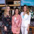 Famosas investem em office look para evento de beleza nesta quarta-feira, dia 28 de agosto de 2018