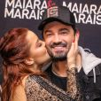Namorado de Maiara, Fernando Zor ganhou carinho da cantora antes de show em São Paulo