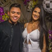 Felipe Araújo esclarece rumor de namoro com a mãe de seu filho, Miguel: 'Amigo'