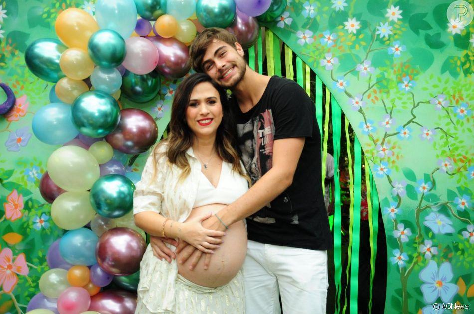Tatá Werneck e Rafael Vitti apostam em decoração clean infantil para quarto da filha, Cora Maria