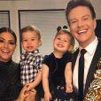 Michel Teló e Thais Fersoza são pais de Melinda, de 2 anos, e  Teodoro, de 1
