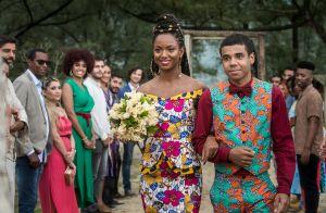 Vestido de noiva de Marie em 'Órfãos da Terra' é inspirado no Congo. Detalhes!