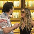 Mario (Lucio Mauro Filho) ficará espantado com a forma que a produção tratará Silvana (Ingrid Guimarães) na novela 'Bom Sucesso'