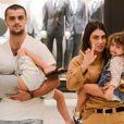 Felipe Simas e a mulher, Mariana Uhlmann, serão pais de um menino após chá revelação neste domingo, dia 15 de setembro de 2019