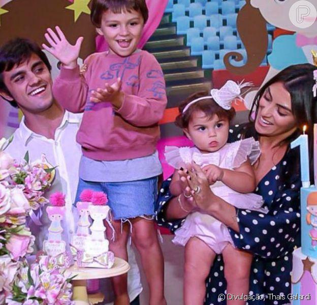 Felipe Simas e a mulher, Mariana Uhlmann, serão pais de mais um menino após chá revelação neste domingo, dia 15 de setembro de 2019