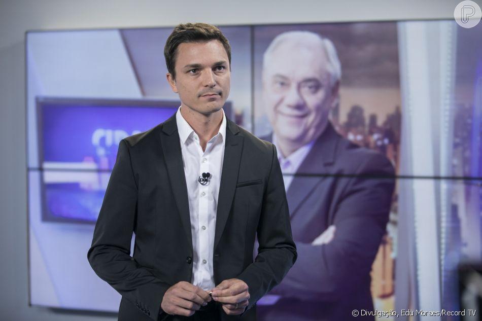 Filho de Marcelo Rezende homenageou o jornalista na rede social nesta segunda-feira, 16 de setembro de 2019