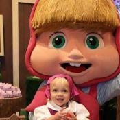 Eliana mostra foto da filha e web aponta semelhança com personagem: 'Marsha'