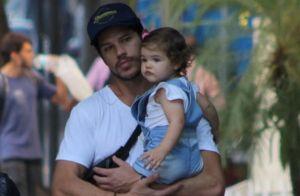 José Loreto é comparado com a filha de 1 ano em foto: 'Boca é muito parecida'
