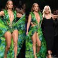 Jennifer Lopez arrancou elogios de famosas brasileiras com sua participação na semana de moda de Milão