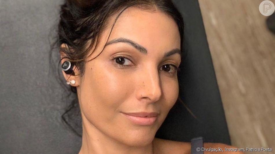 Patricia Poeta confessa ter estrias no corpo no programa 'Mais Você' nesta terça-feira, dia 24 de setembro de 2019