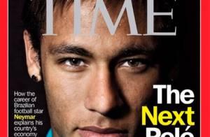 Neymar, após ser criticado pelo Rei, é capa da revista 'Time': 'O próximo Pelé'