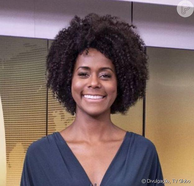 Maria Julia Coutinho agradou ao estrear no 'Jornal Hoje': 'Arrasando'