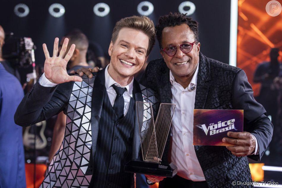 Tony Gordon vence o'The Voice Brasil' e Michel Teló comemora penta: ' Obrigado, turma!'