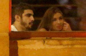 Caio Castro e Grazi Massafera deixam restaurante juntos após jantar com amigos