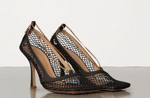 Marina Ruy Barbosa orna look com sapato de bico quadrado no México. Inspire-se!