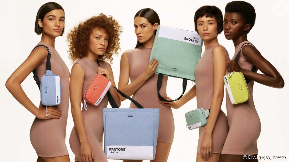 A Arezzo e a Pantone se uniram para criar uma coleção de verão colorida, glam e fresh!