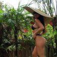 Sabrina Sato ostentou boa forma em novo clique exibindo o corpo curvilíneo