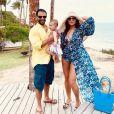 Sabrina Sato curtiu viagem à Bahia com Duda Nagle e a filha do casal, Zoe