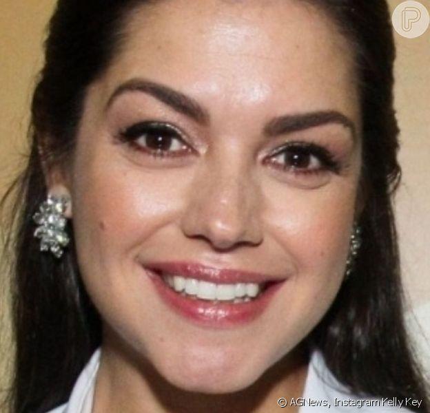Thais Fersoza e Kelly Key surpreenderam pela semelhança em foto. 'Parecem muito uma com a outra', opinou Luciano Camargo