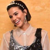 Bruna Marquezine se diverte entre amigas no aniversário de Marina Moschen. Fotos