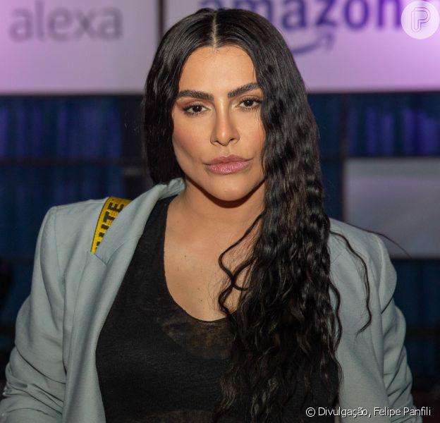 Cleo, Luciana Gimenez e mais famosos celebram o lançamento de Alexa e Amazon Music no Brasil, no Blue Note, em São Paulo, nesta terça-feira, 15 de outubro de 2019