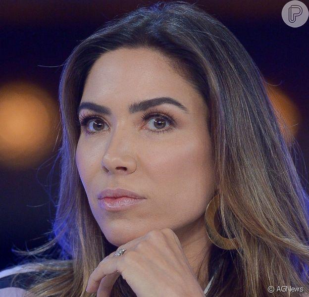 Patricia Abravanel contou que foi vítima de fake news nesta quarta-feira, 16 de outubro de 2019