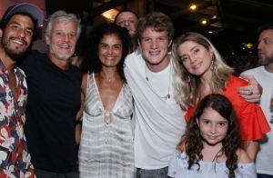 Letícia Spiller e Marcello Novaes festejam juntos 23 anos do filho, Pedro Novaes