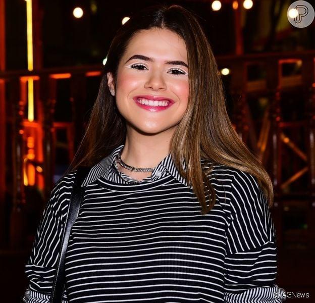 Maisa Silva falou sobre a relação com Silvio Santos no programa 'Mais Você' nesta segunda-feira, 21 de outubro de 2019