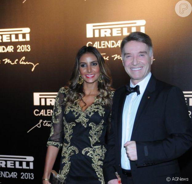 Eike Batista e Flávia Sampaio estão esperando o primeiro filho do casal, em 21 de fevereiro de 2013