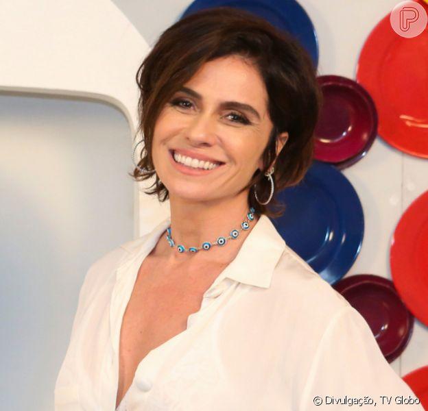 Giovanna Antonelli adotou novo visual, com cabelo curto, para novo papel na TV