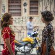 Maria da Paz (Juliana Paes) verá na nova gravidez uma chance de acertar tudo o que errou na criação de Josiane (Agatha Moreira) na novela 'A Dona do Pedaço'