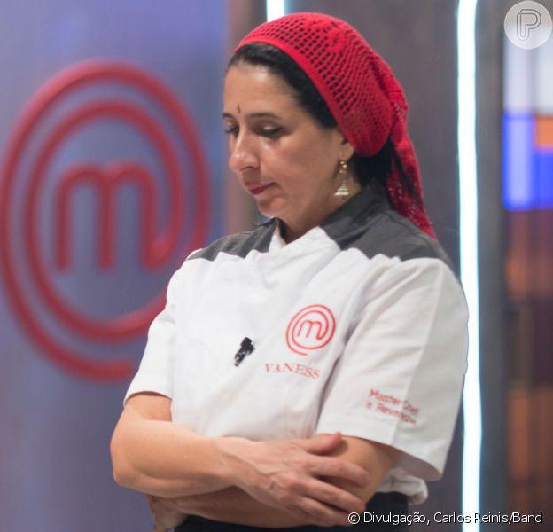 Em 'MasterChef - A Revanche',Vanessa Vagnotti foi a segunda cozinheira a deixar o TOP 10 com ex-participantes