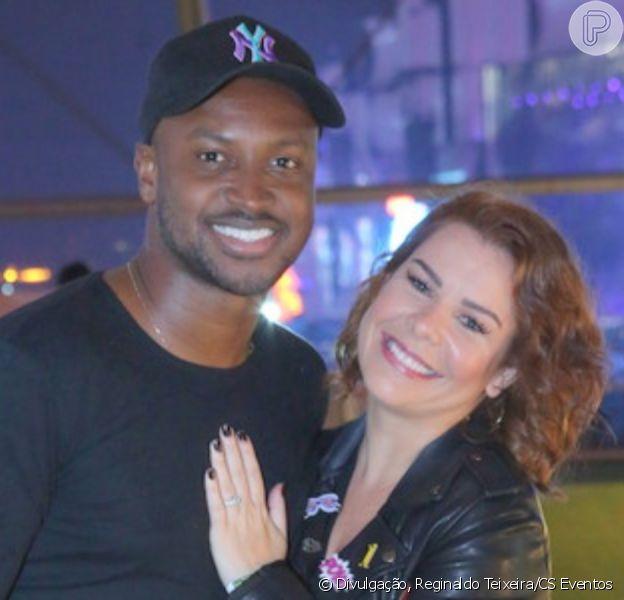 Thiaguinho e Fernanda Souza colocaram ponto final no casamento de quatro anos após oito anos de relacionamento em outubro de 2019