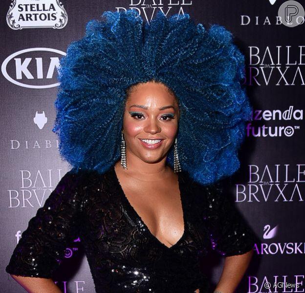 Juliana Alves arrasou no look para o Baile da Bruxa no hotel Four Seasons, em São Paulo, nesta quinta-feira, 31 de outubro de 2019