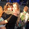 Caio Castro comentou foto de Grazi Massafera com a filha, Sophia, no Rock in Rio