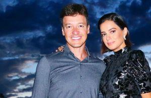 Rodrigo Faro e Vera Viel posam em banheiro: 'Unidos nos momentos difíceis'