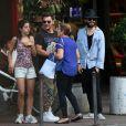 Jared Leto contou com a campanhia do irmão Shannon Leto