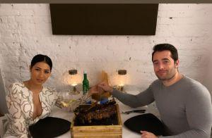 Simaria elege vestido grifado para jantar com marido, Vicente, na Espanha. Veja!