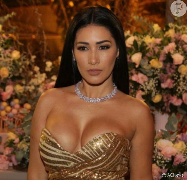 Simaria elege vestido grifado para jantar com marido na Espanha nesta sexta-feira, dia 08 de novembro de 2019