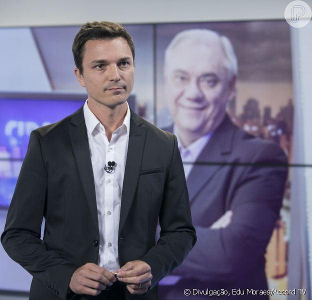 Filho de Marcelo Rezende, Diego Esteves adicionou sobrenome do jornalista nesta terça-feira, 12 de novembro de 2019