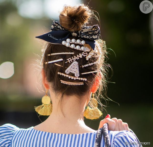 O guia dos acessórios de cabelo para usar durante o verão!